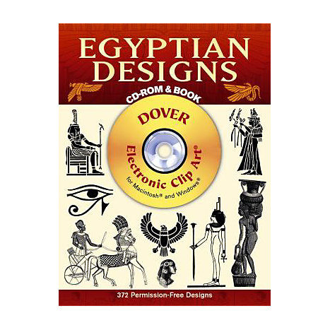 ISBN: 9780486999586, Title: EGYPTIAN DESIGNS: 390 DIFFEREN