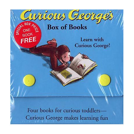 ISBN: 9780618226115, Title: CURIOUS GEORGE BOX OF BOOKS