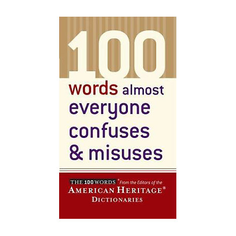 ISBN: 9780618493333, Title: 100 WORDS CONFUSES & MISUSES