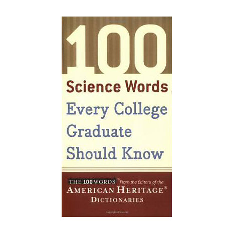 ISBN: 9780618701742, Title: 100 SCIENCE WORDS EVERY COLLEG
