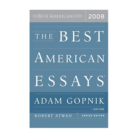 ISBN: 9780618983223, Title: 2008 BEST AMER ESSAYS