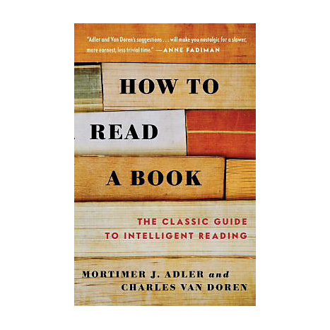 ISBN: 9780671212094, Title: HOW TO READ A BOOK