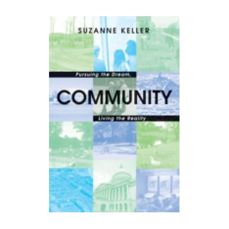 ISBN: 9780691123257, Title: COMMUNITY - PURSUING THE DREAM