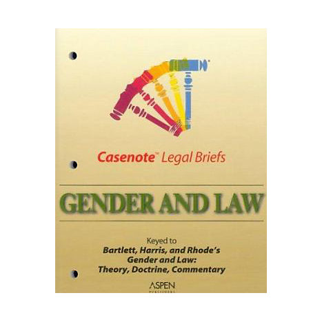 ISBN: 9780735536036, Title: GENDER LAW CLB BARTLETT