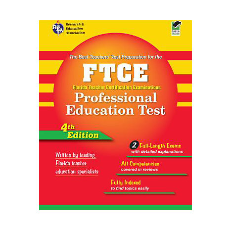 ISBN: 9780738602806, Title: FTCE PROFESSIONAL EDUCATION