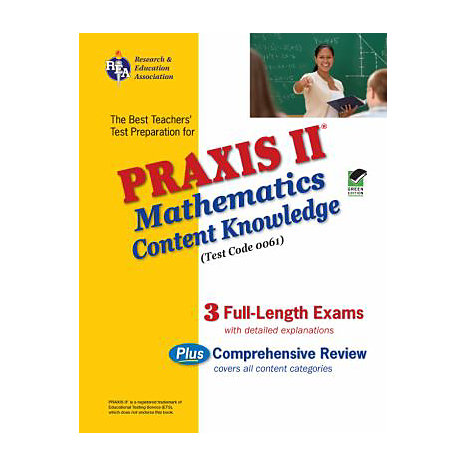 ISBN: 9780738603308, Title: PRAXIS MATH CONTENT KNOWLEDGE