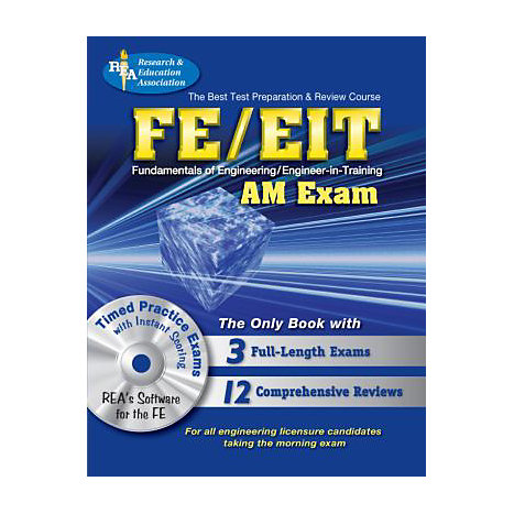 ISBN: 9780738603322, Title: FE/EIT AM W/CD BEST TEST PREP