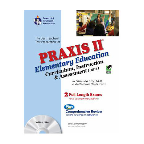 ISBN: 9780738604015, Title: PRAXIS II ELEM ED 0011 W/CD