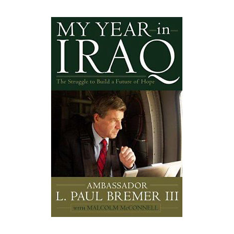 ISBN: 9780743273893, Title: MY YEAR IN IRAQ