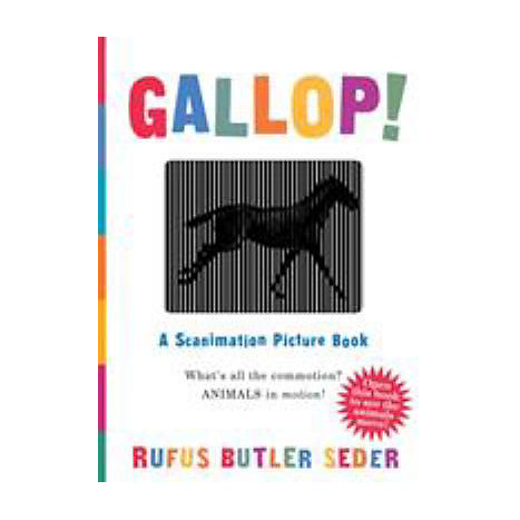 ISBN: 9780761147633, Title: GALLOP! SCANIMATION PICTURE BK