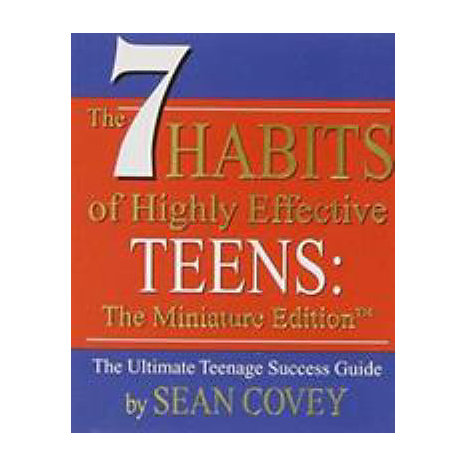 ISBN: 9780762414741, Title: The 7 Habits of Highly Effective Teens - Miniature Edition