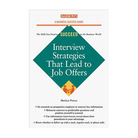 ISBN: 9780764106842, Title: INTERVIEW STRATEGIES LEAD TO