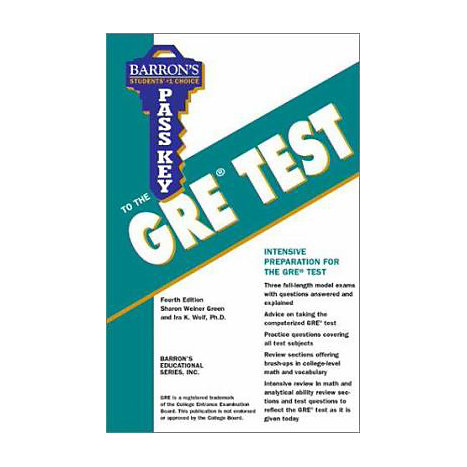 ISBN: 9780764117824, Title: GRE PASS THE KEY
