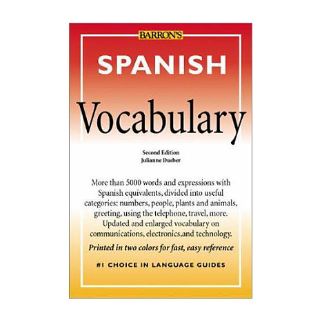 ISBN: 9780764119859, Title: SPANISH VOCABULARY