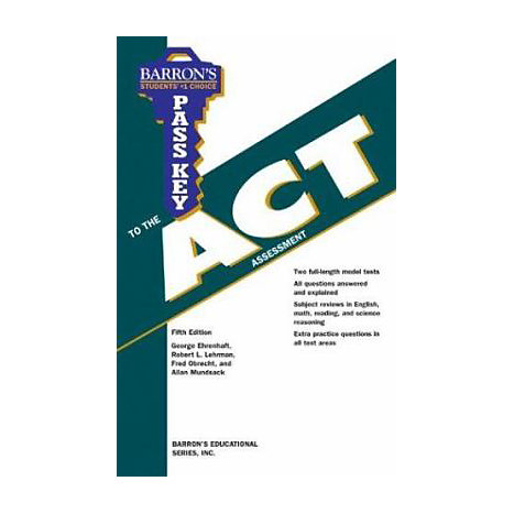 ISBN: 9780764123023, Title: Pass Key to the ACT