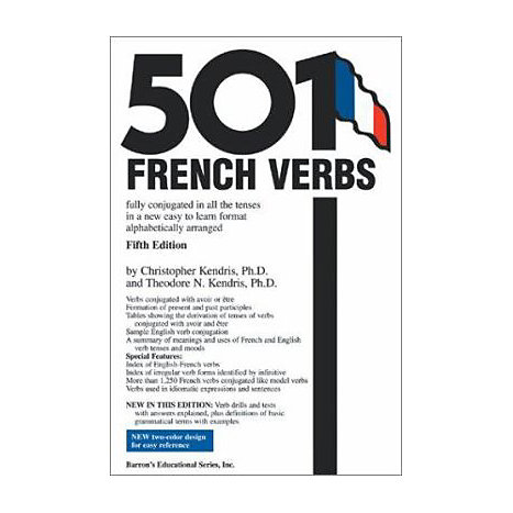 ISBN: 9780764124297, Title: 501 FRENCH VERBS FULLY CONJUGA