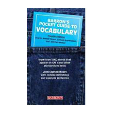 ISBN: 9780764126949, Title: POCKET GT VOCABULARY 4E