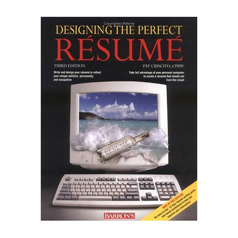 ISBN: 9780764128950, Title: DESIGNING PERFECT RESUME 3E