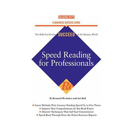 ISBN: 9780764131998, Title: SPEED READING FOR PROFESSIONAL