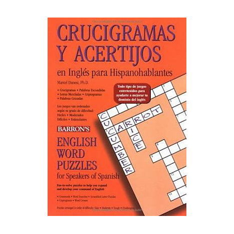 ISBN: 9780764132650, Title: ENGLISH WORD PUZZLES  FOR SPEA
