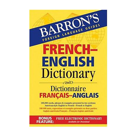 ISBN: 9780764133305, Title: FRENCH-ENGLISH DICTIONARY