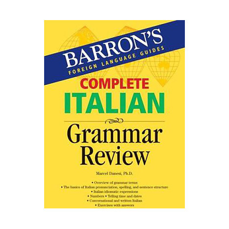 ISBN: 9780764134623, Title: COMPLETE ITALIAN GRAMMAR REVIE
