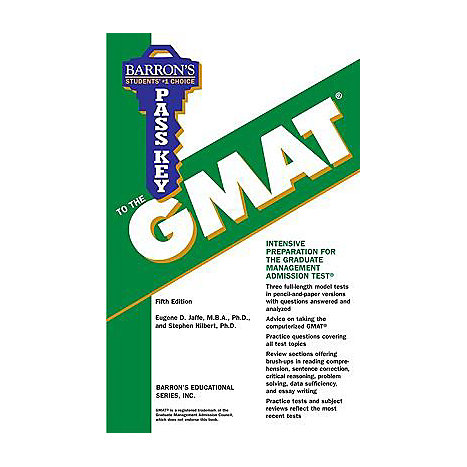 ISBN: 9780764135705, Title: PASS KEY TO THE GMAT  5TH ED
