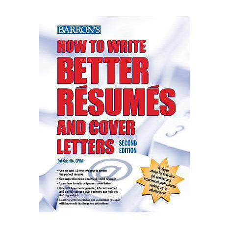 ISBN: 9780764139178, Title: HT WRITE BETTER RESUMES & COVE