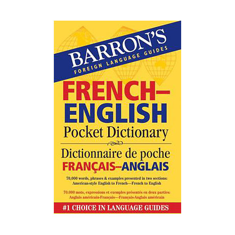 ISBN: 9780764140020, Title: FRENCH ENGLISH PCKT DICT