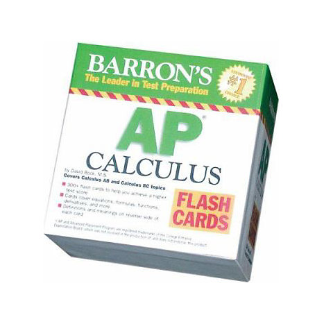 ISBN: 9780764194214, Title: AP CALCULUS FLASH CARDS