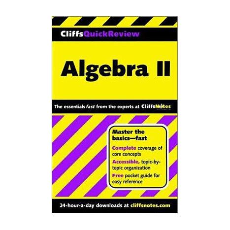 ISBN: 9780764563713, Title: ALGEBRA 2 QUICK REVIEW