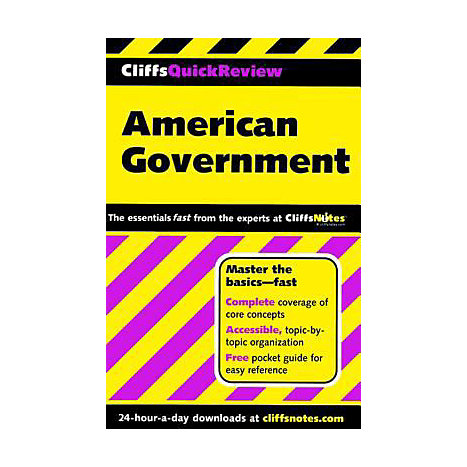 ISBN: 9780764563720, Title: AMERICAN GOVERNMENT QUICK REVI