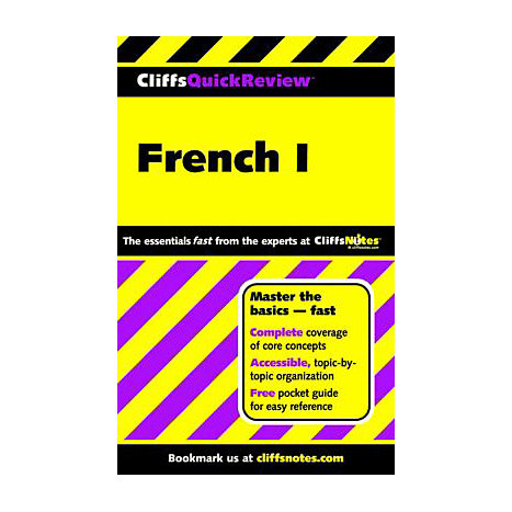 ISBN: 9780764563799, Title: FRENCH 1 QUICK REVIEW