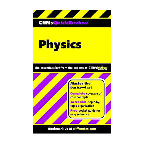 ISBN: 9780764563836, Title: PHYSICS QUICK REVIEW