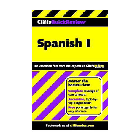 ISBN: 9780764563874, Title: SPANISH 1 QUICK REVIEW