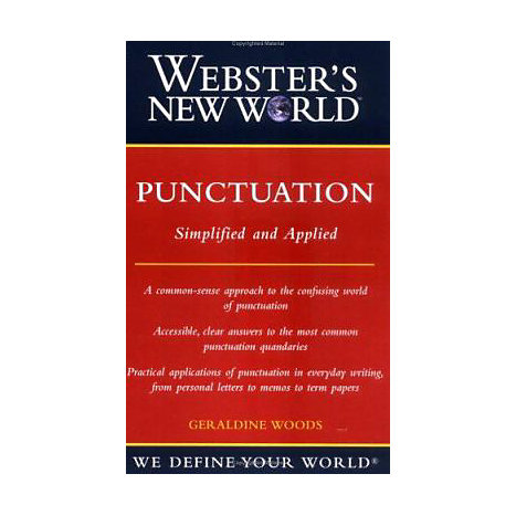 ISBN: 9780764599163, Title: WEBSTER NEW WORLD PUNCTUATION