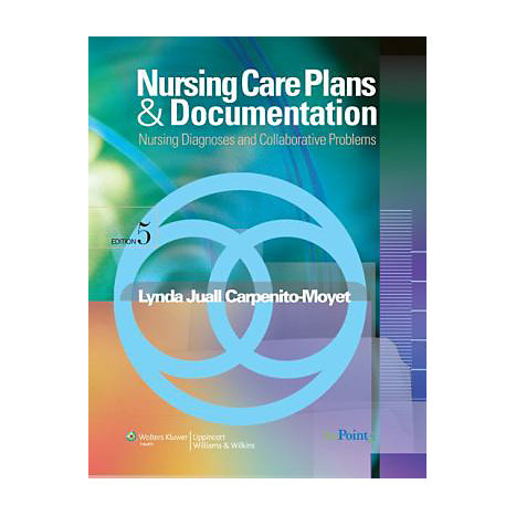 ISBN: 9780781770644, Title: NSG CARE PLANS DOCUMENTATION 5