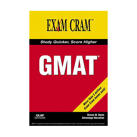 ISBN: 9780789734129, Title: GMAT EXAM CRAM