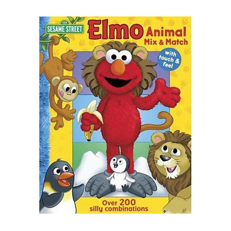 ISBN: 9780794414443, Title: Elmo Animal Mix & Match: With Touch & Feel