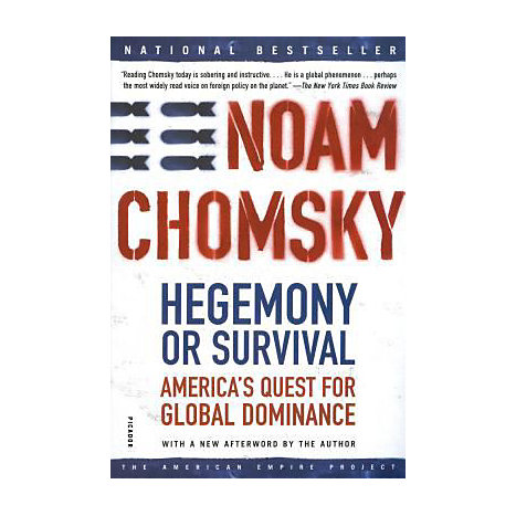 ISBN: 9780805076882, Title: HEGEMONY OR SURVIVAL: AMERICA