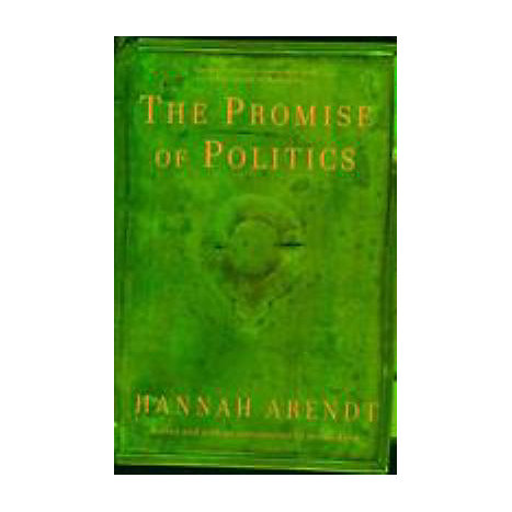 ISBN: 9780805212136, Title: The Promise of Politics