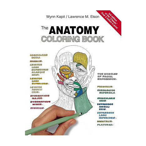 ISBN: 9780805350869, Title: ANATOMY COLORING BK 3E