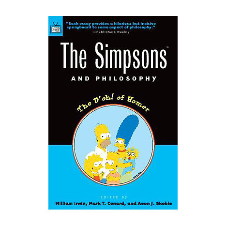 ISBN: 9780812694338, Title: SIMPSONS & PHILOSOPHY