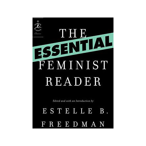 ISBN: 9780812974607, Title: ESSENTIAL FEMINIST READER
