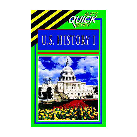 ISBN: 9780822053606, Title: US HISTORY 1 QUICK REVIEWS