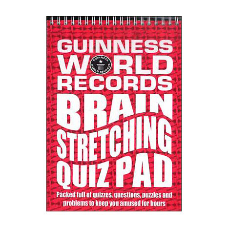 ISBN: 9780843113853, Title: Guinness World Records: Brain Stretching Quiz Pad
