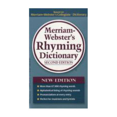 ISBN: 9780877798545, Title: MW RHYMING DICTIONARY 2E