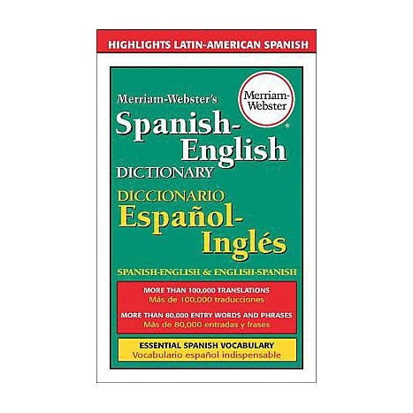 ISBN: 9780877799160, Title: MW SPANISH ENGLISH DICT
