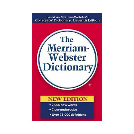 ISBN: 9780877799306, Title: MERRIAM-WEBSTER DICTIONARY