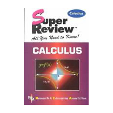 ISBN: 9780878911820, Title: CALCULUS SUPER REVIEW